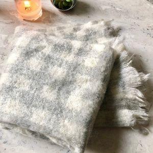 Madewell Buffalocheck Wool Scarf